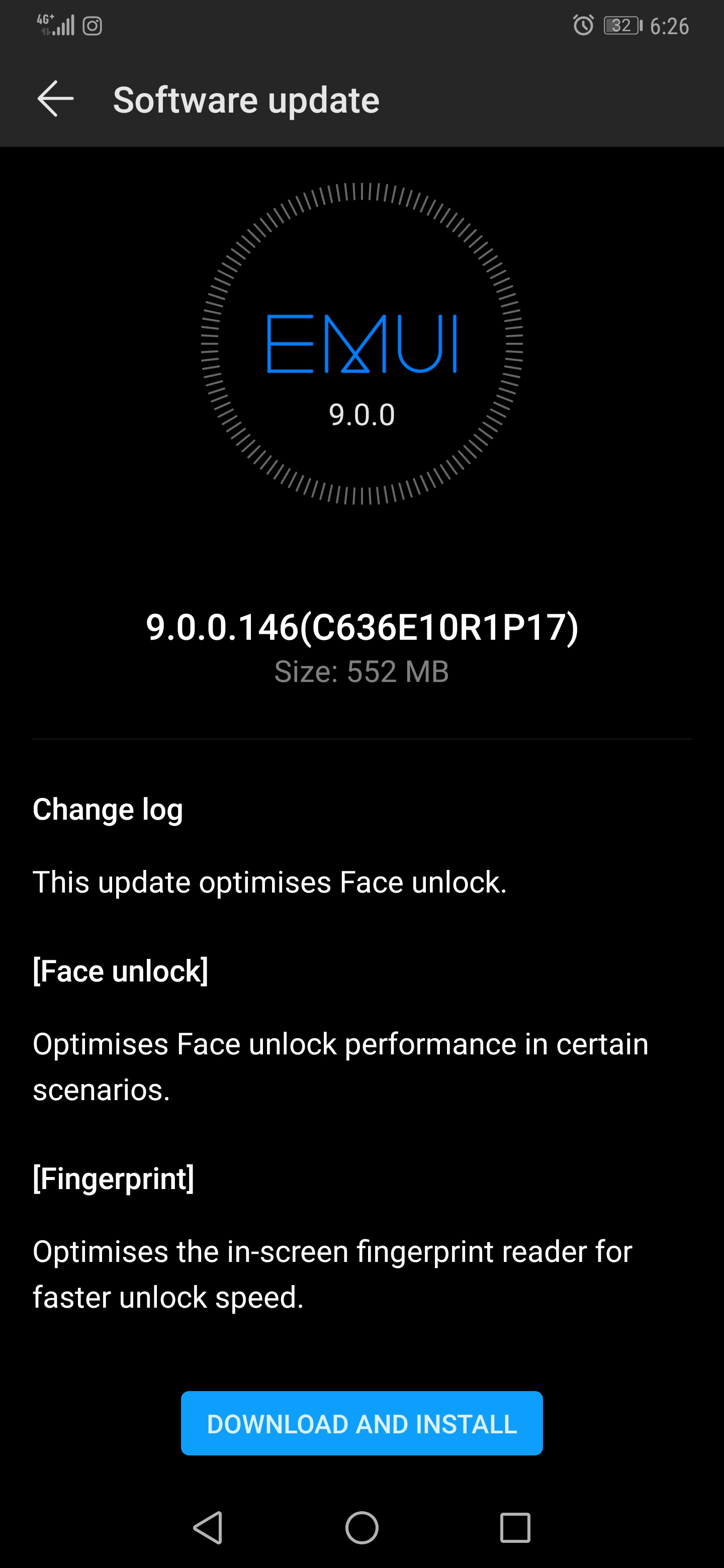 Huawei Mate 20 Pro update brings improvements to the Face Unlock and