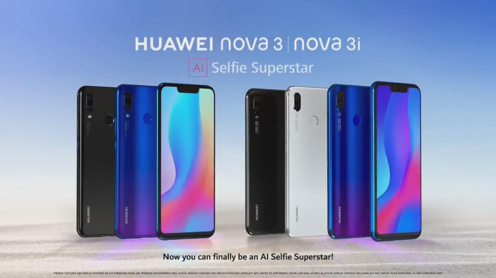 Huawei Nova 3i is launching globally alongside Nova 3, Kirin