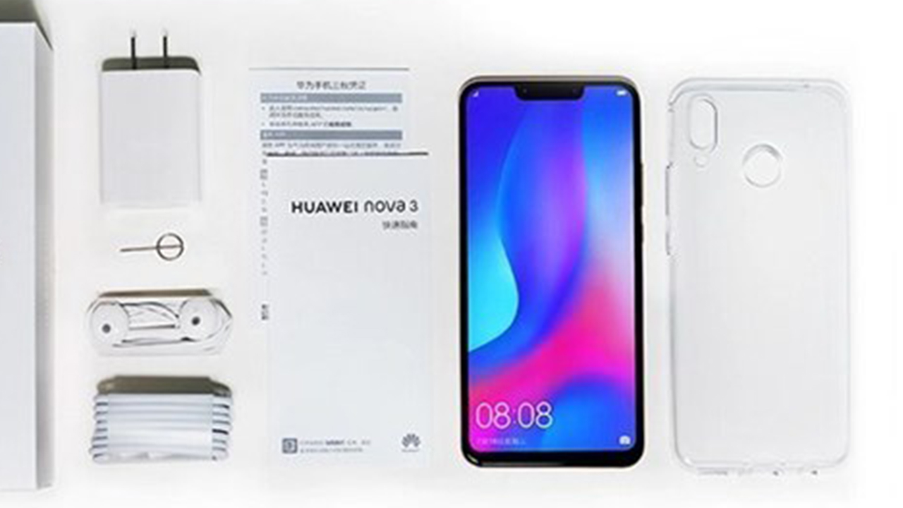 Huawei Nova 3 fully exposed ahead of its official launch