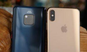Huawei Mate 20 Pro Vs Apple iPhone XS