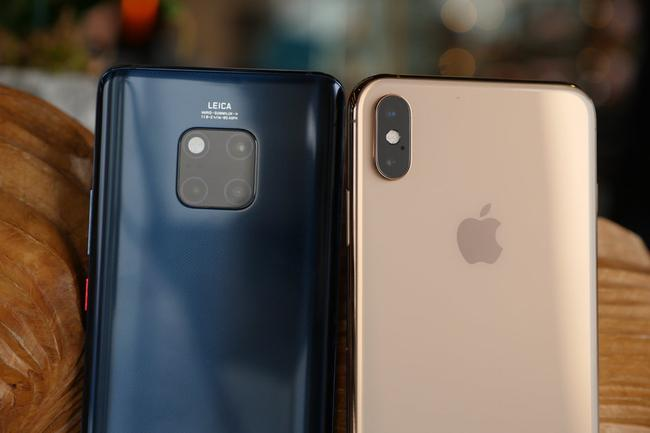 Huawei Mate 20 Pro Vs Apple iPhone XS