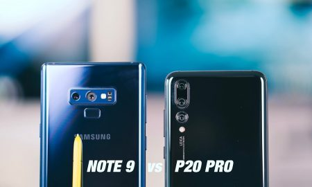 Huawei P20 Pro Vs Samsung Galaxy Note 9