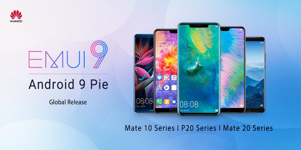 EMUI 9 0 is now available for the Huawei P20/P20 Pro and