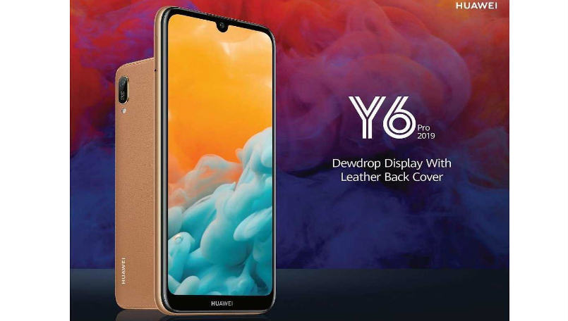 Huawei Y6 Pro 2019 launched in Sri Lanka with a leather