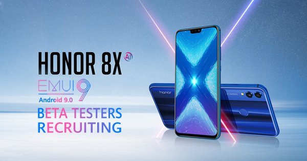 Honor 8X will get stable EMUI 9 0 update in March - Huawei