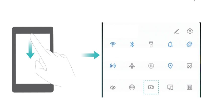 How to record screen on Huawei P30 and Huawei P30 Pro