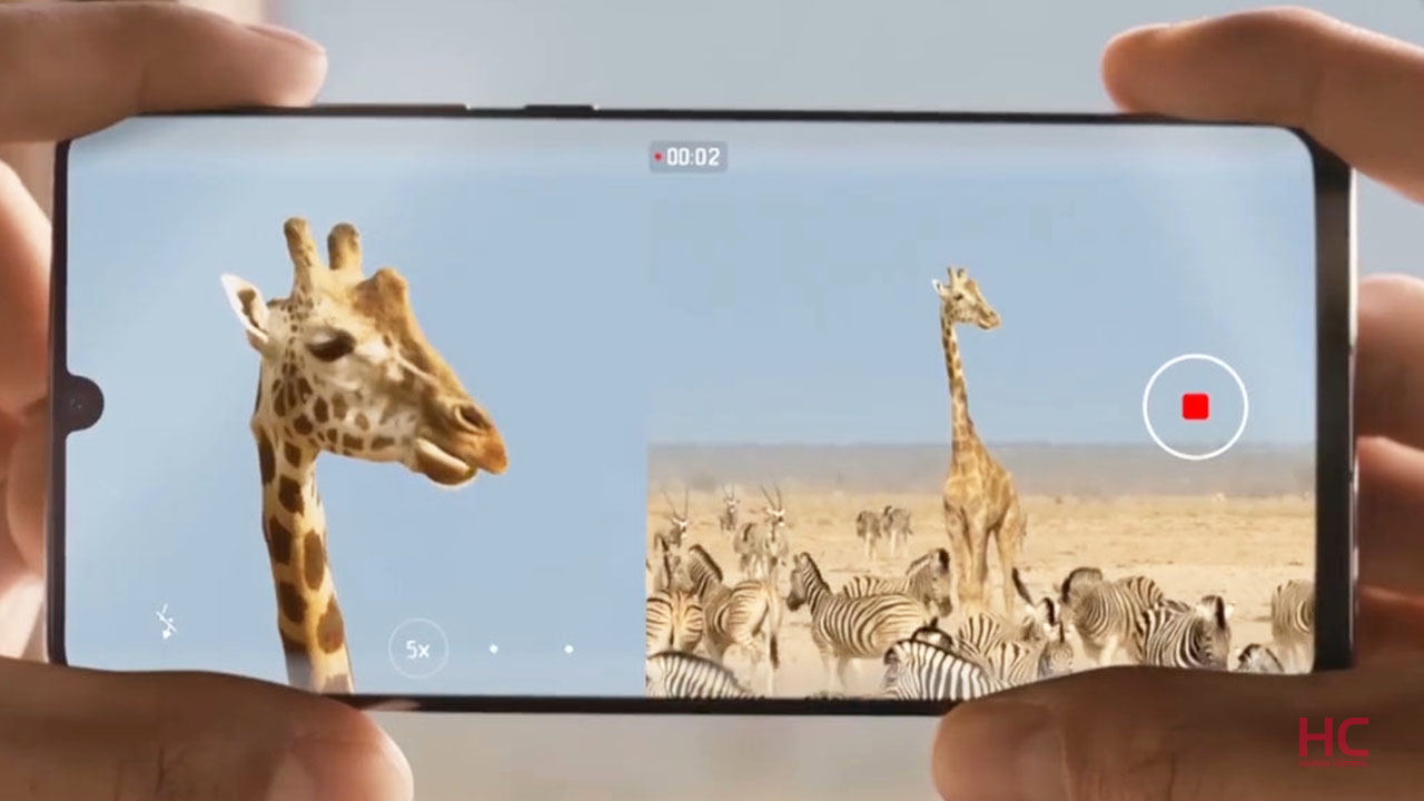 Huawei P30 and P30 Pro getting 'Dual-View Video' mode with a new