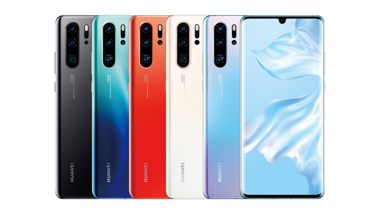 huawei p30 pro colors