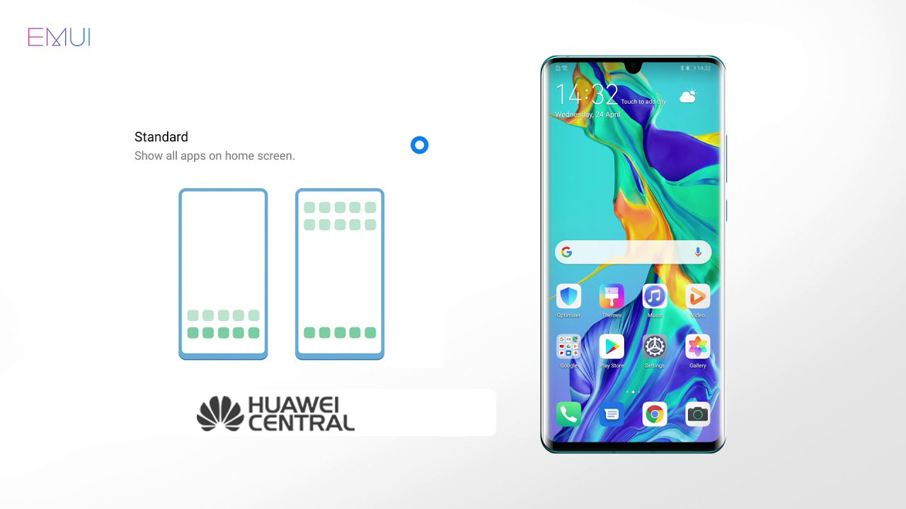 EMUI 9 1: How to use App Drawer to keep your apps in a
