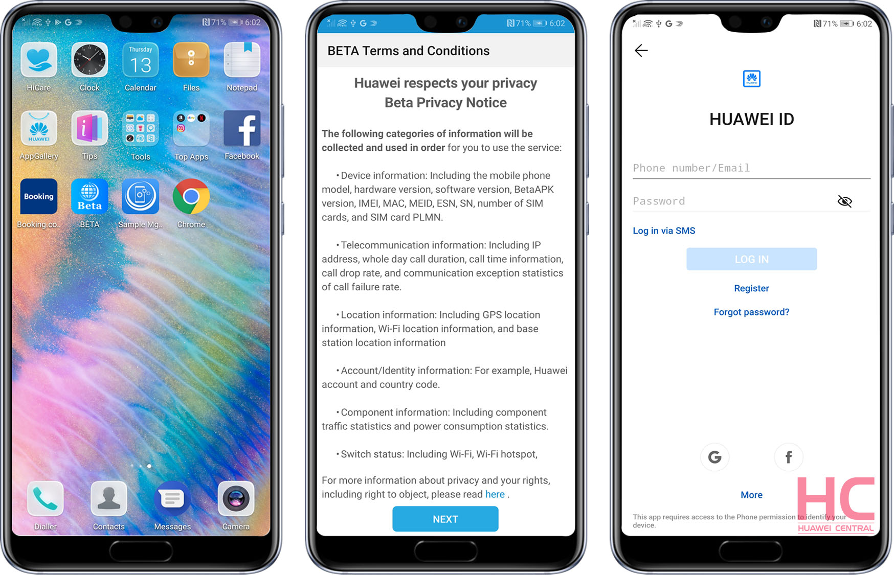 How to join the EMUI Beta user program - Huawei Central