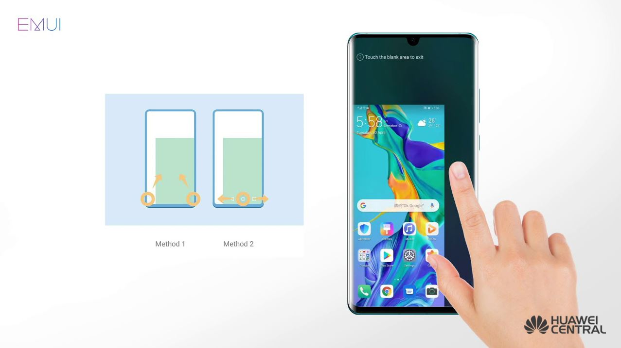 EMUI 9 1: How to use One-Handed UI - Huawei Central