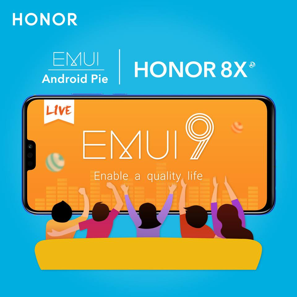 Honor 8X getting a new EMUI 9 update with improved camera