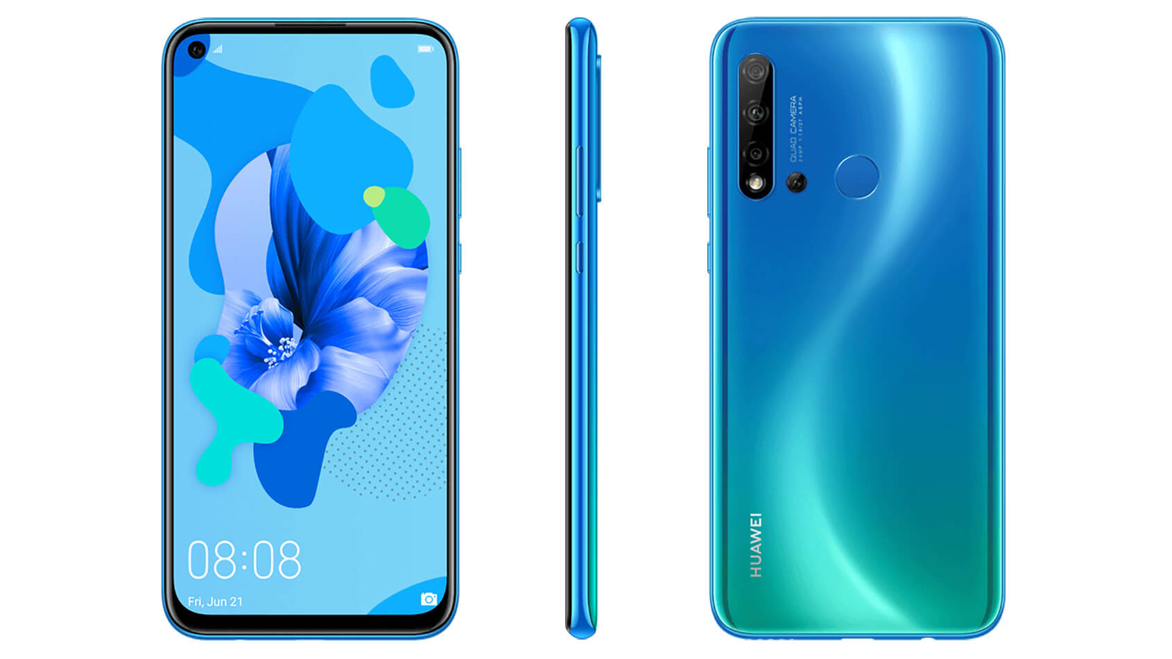 Huawei P20 Lite 2019 is coming with quad rear camera and