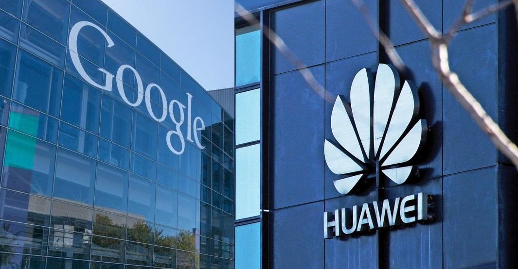 Google Bela Huawei
