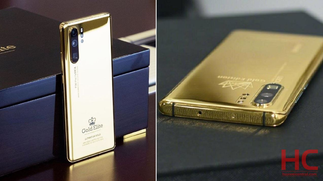 This Gold Variant Of Huawei P30 Pro Looks Really Luxurious Huawei Central