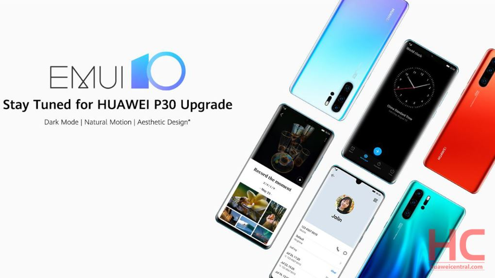 Emui 10 Beta Registration Now Open For Huawei P30 Series