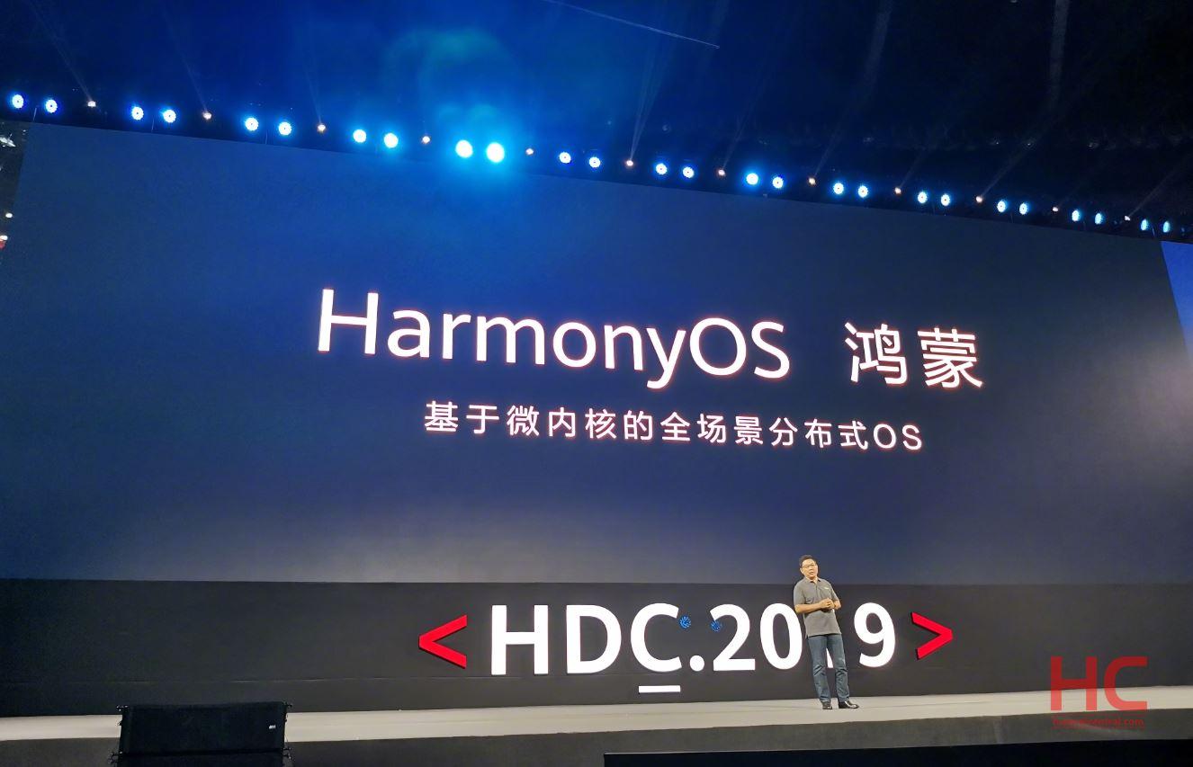 Huawei officially announced Harmony OS/Hongmeng OS - Huawei