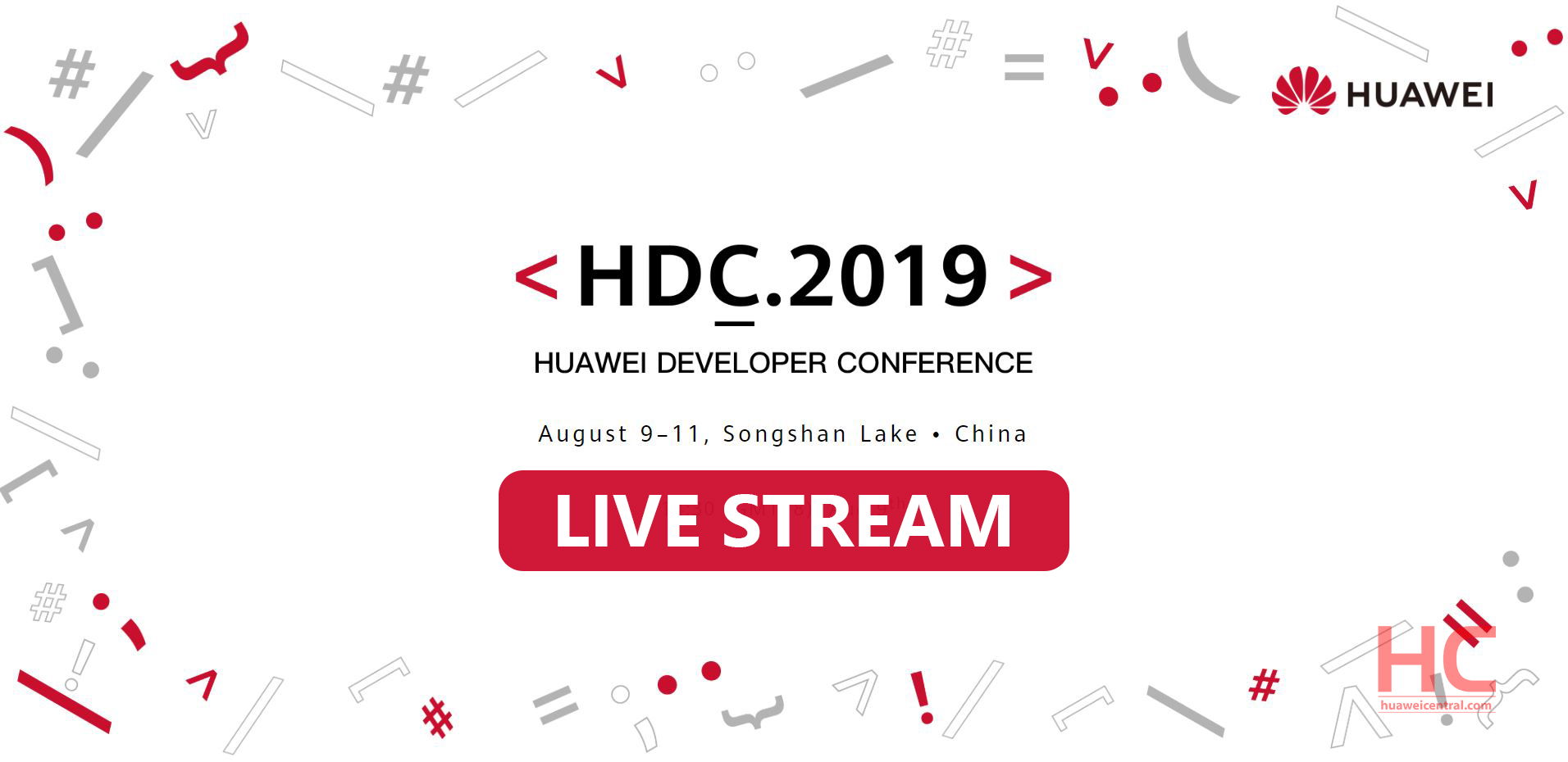How to watch HDC 2019: Catch EMUI 10, Hongmeng OS and more - Huawei