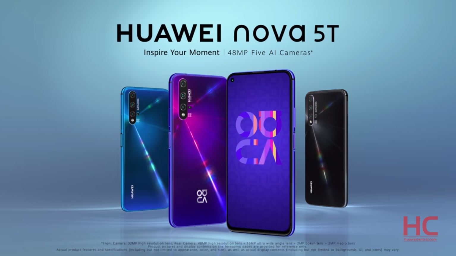 Huawei Nova 5t With Kirin 980 And Emui 9 1 Launched In Singapore