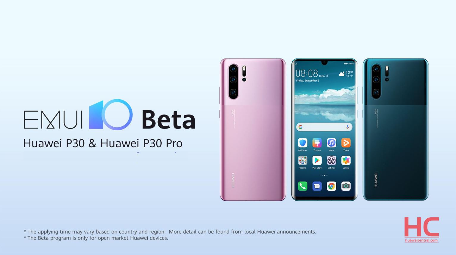 Breaking: EMUI 10 beta rolling out for Huawei P30 and Huawei