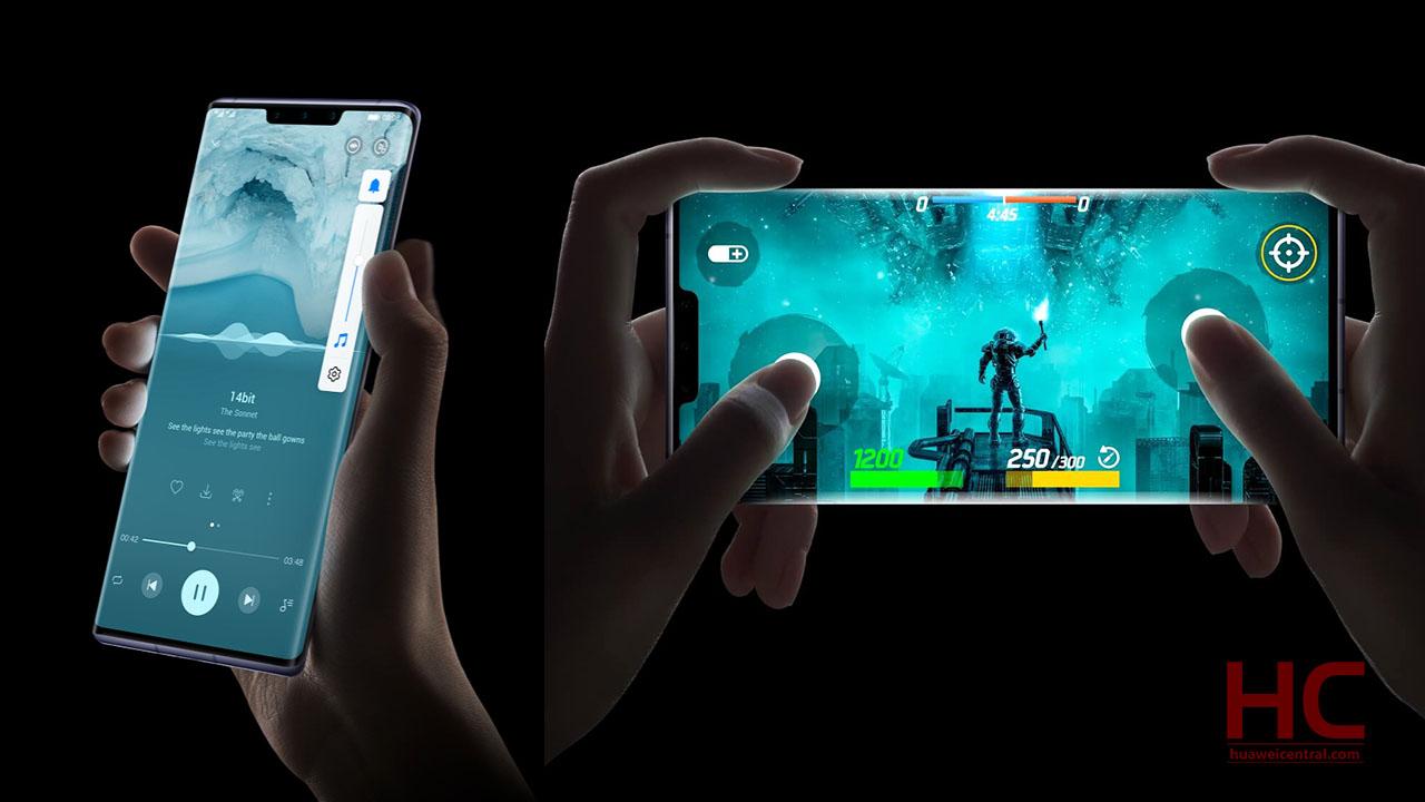 Huawei Mate 30 Pro Virtual Keys
