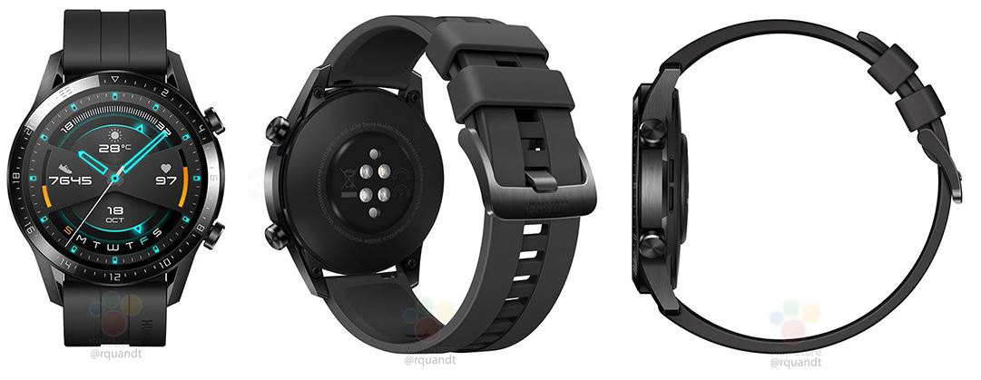 Huawei Watch GT 2 leak reveals design and specs information, will be launching very soon