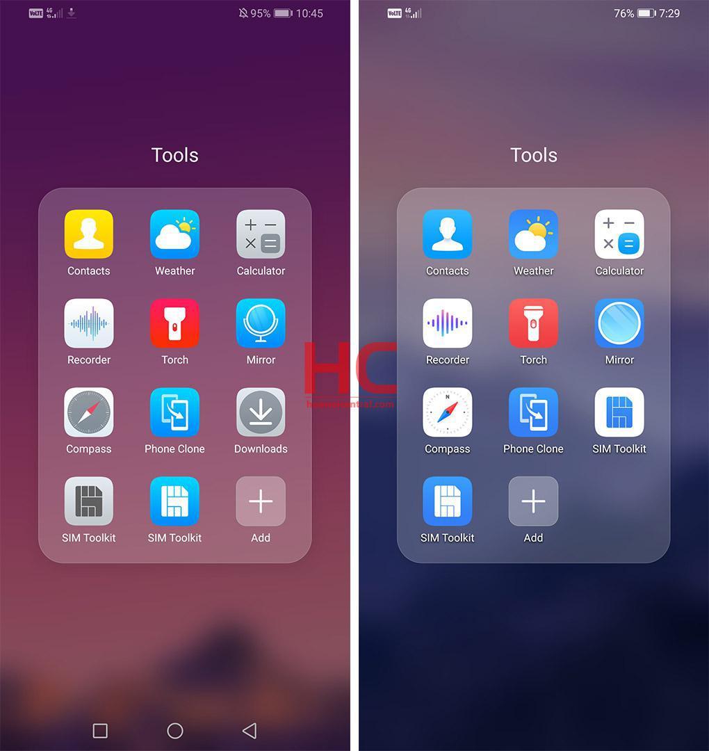User interface contrast fortnite