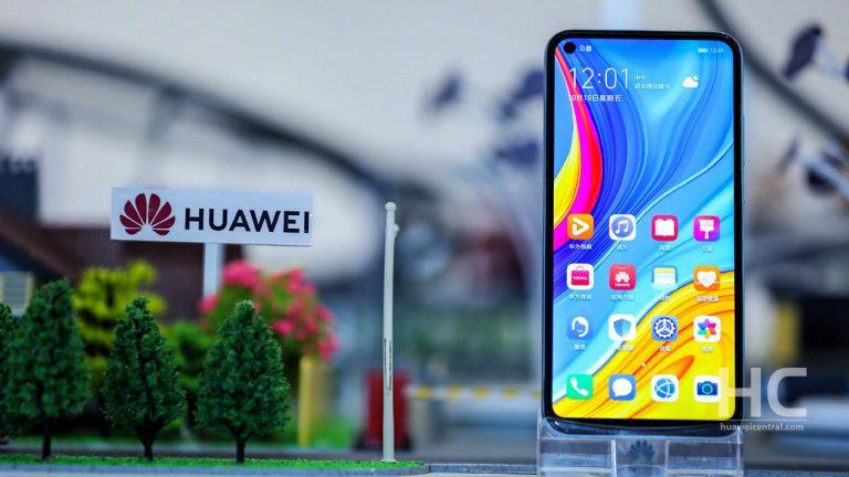Huawei Phone with Logo