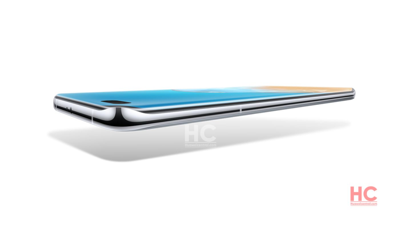 Huawei P40 Pro Quad Curved Overflow Display