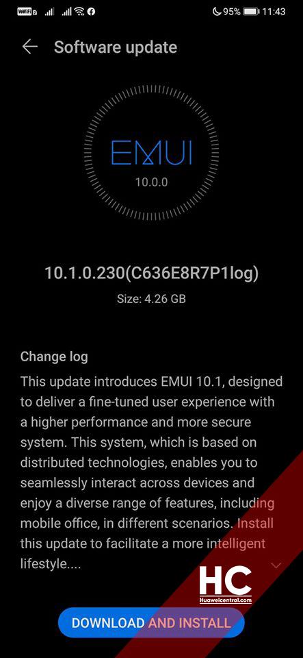 Huawei Mate 30 EMUI 10.1 Beta