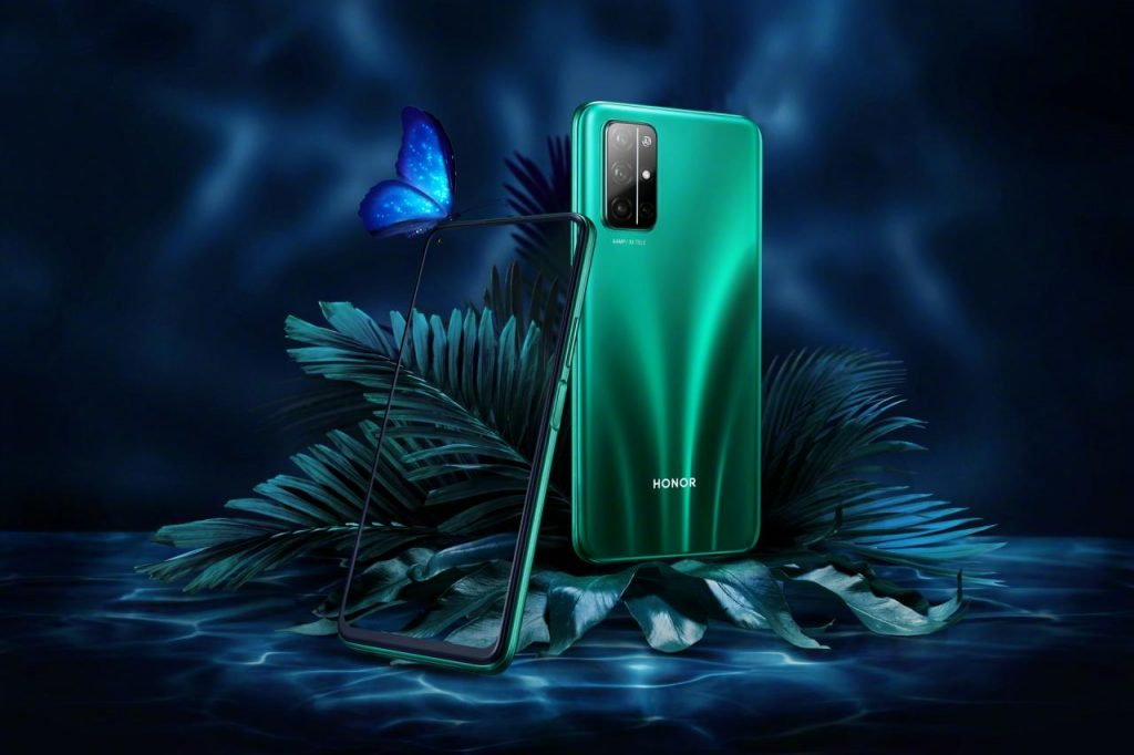 Honor 30S In Green Color