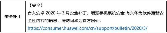 Huawei Enjoy 10 Plus April update Changelog (Chinese)