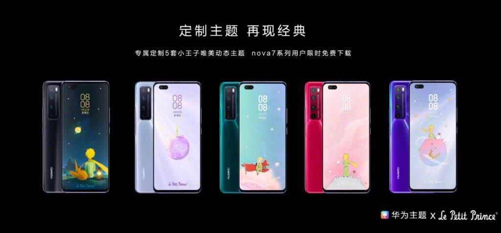 Huawei Nova 7 series Elegant Themes