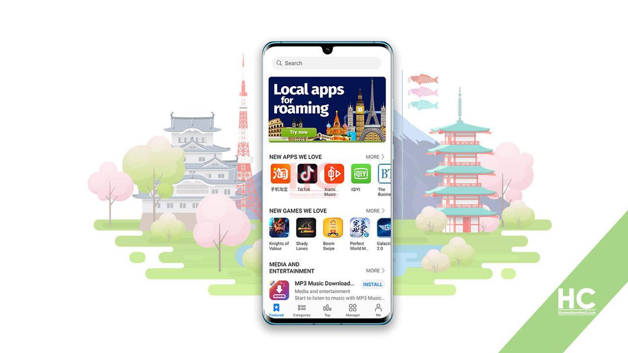 Huawei Apps