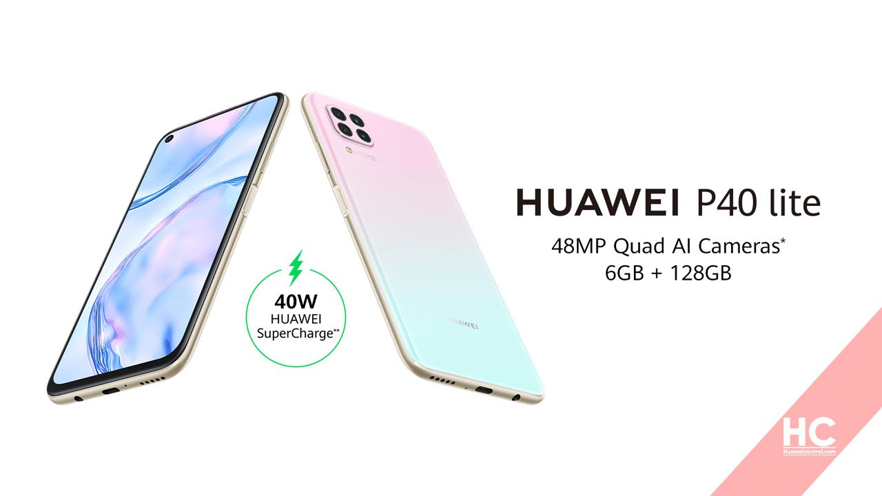 Display, January and February 2021 updates rolling out for Huawei P40 Lite users
