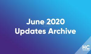 June 2020 EMUI Updates