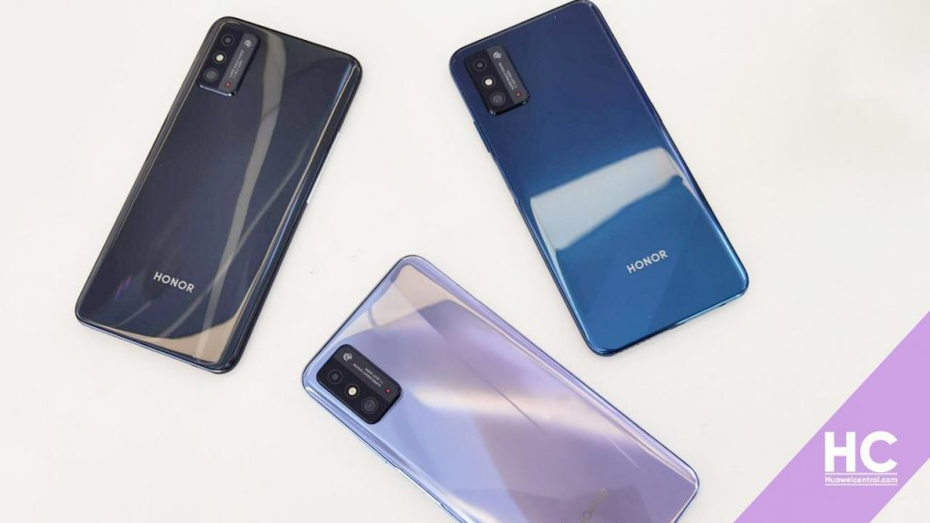 Honor X10 Max Live Image