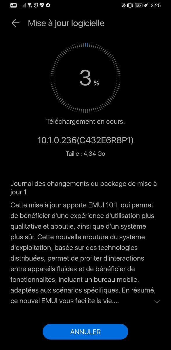 Huawei Mate 30 Pro EMUI 10.1