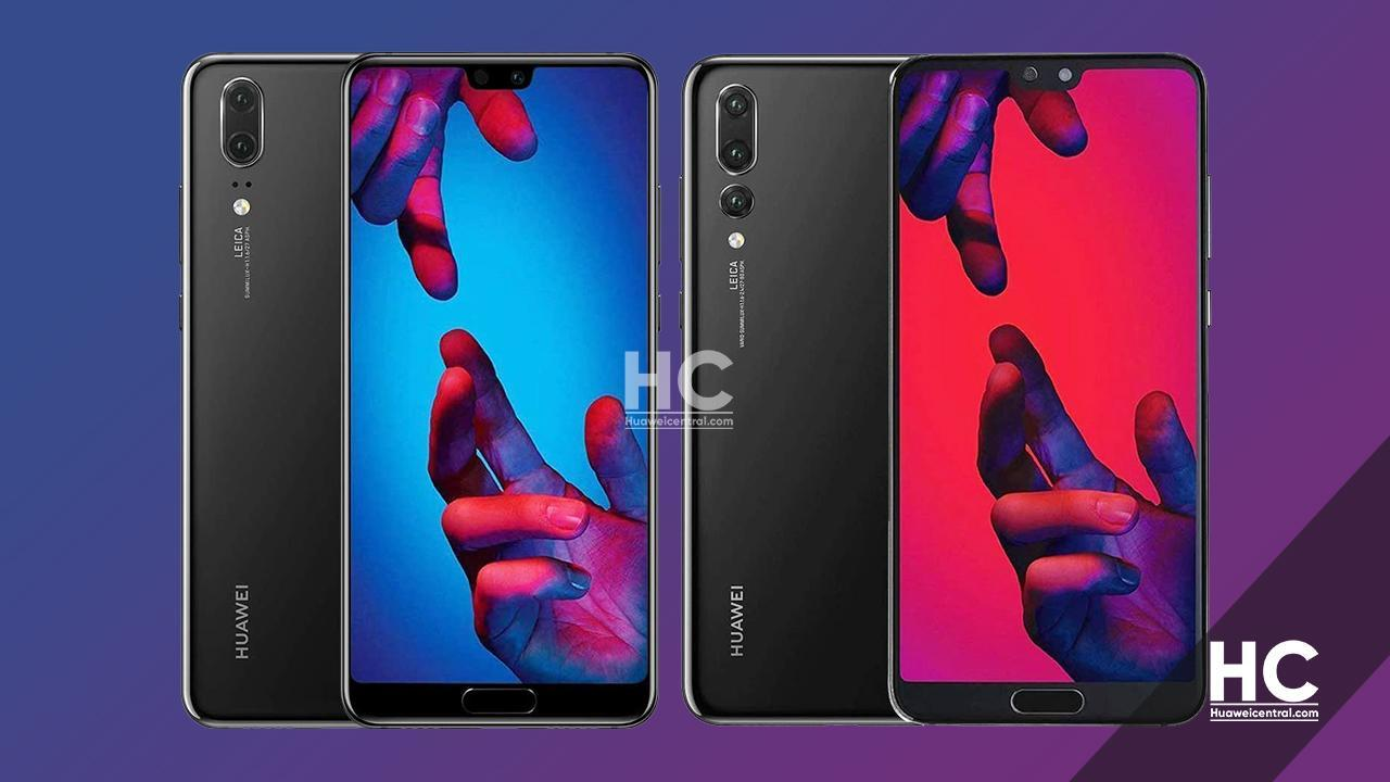 Huawei P20 and P20 Pro