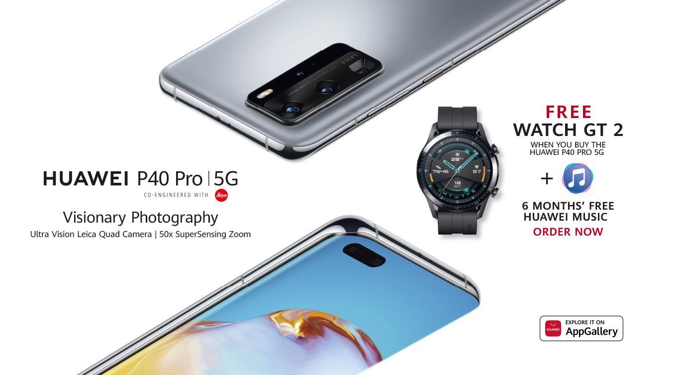 Huawei P40 Pro UK offer