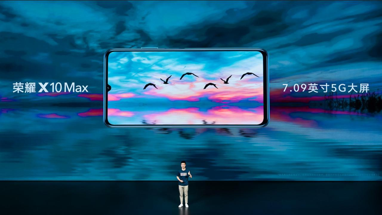 Honor X10 Max 5G launched with a giant 7.09-inch RGBW display ...