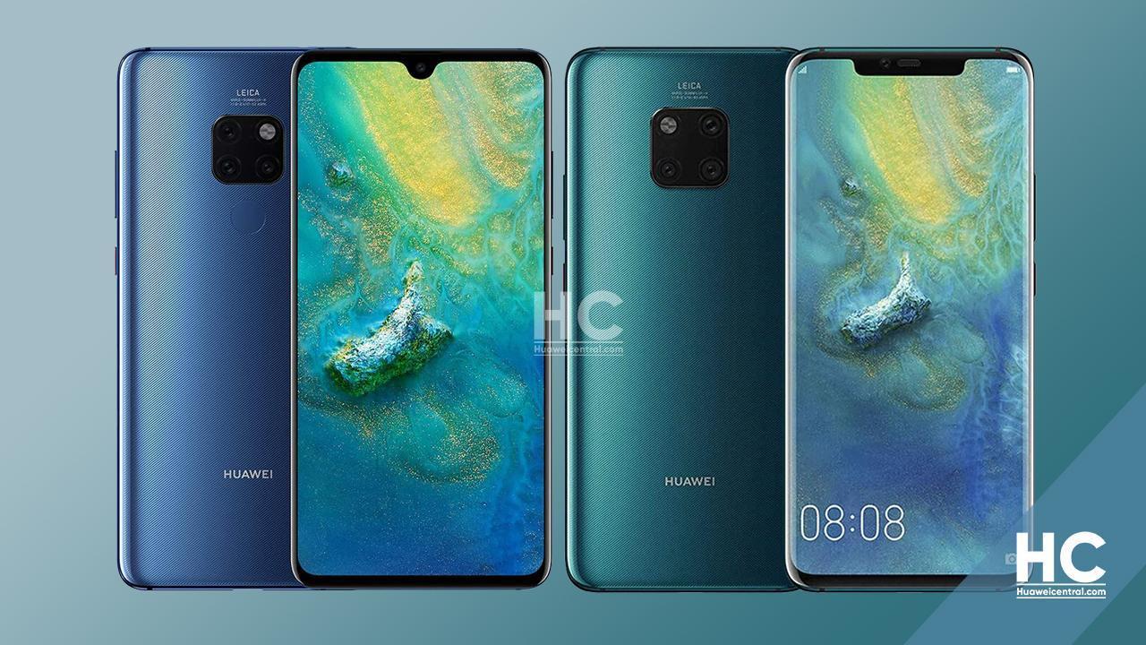 Chinese variants of Huawei Mate 20 series getting stable HarmonyOS 2