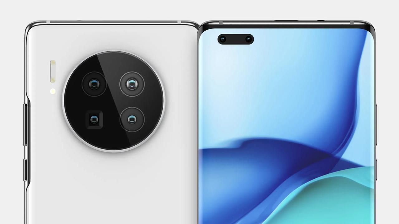 Huawei Mate 40 render allegedly appears in a promo image - Huawei Central