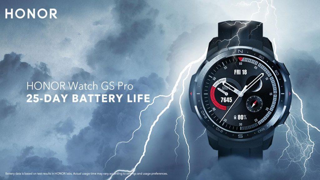 Honor Watch GS Pro começa a receber atualização de software com otimizações 1
