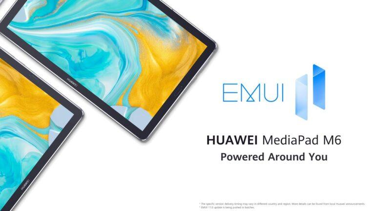 Huawei MediaPad M6 EMUI 11
