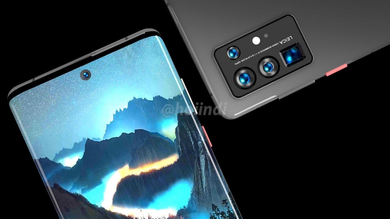 Huawei P50 Pro Render