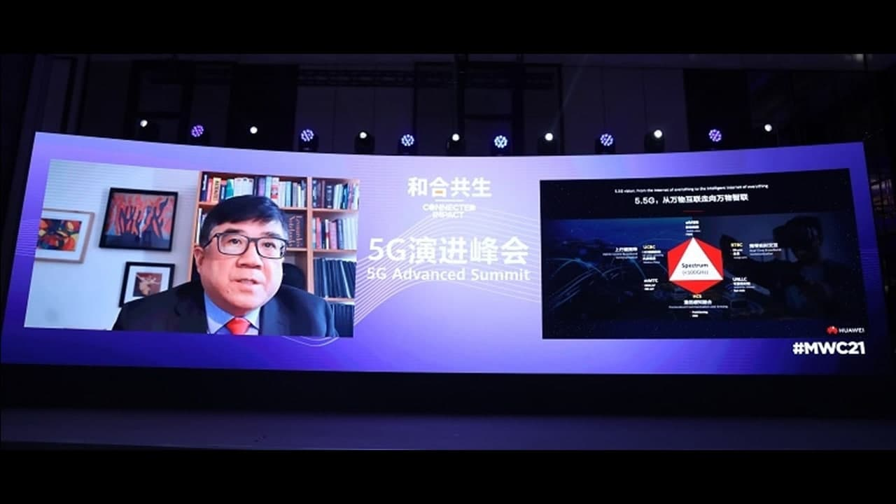 Continuous 5G Evolution for building an engine of All-Industry Digitalization, says Huawei Wireless Fellow and CTO