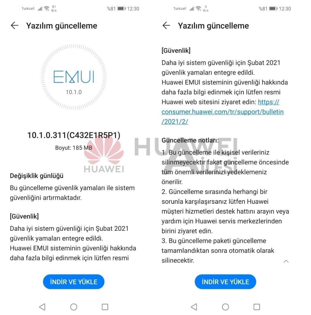Huawei P40 Lite começa a receber atualização de software com patch de segurança de fevereiro de 2021 2