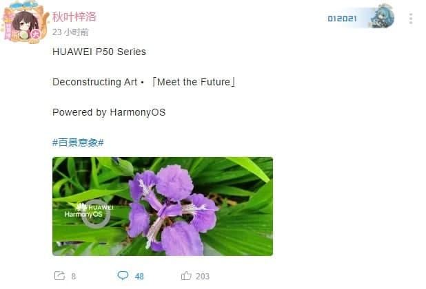 Hongmeng OS será lançado a 22 de abril e a série Huawei P50 a 27 de abril 3