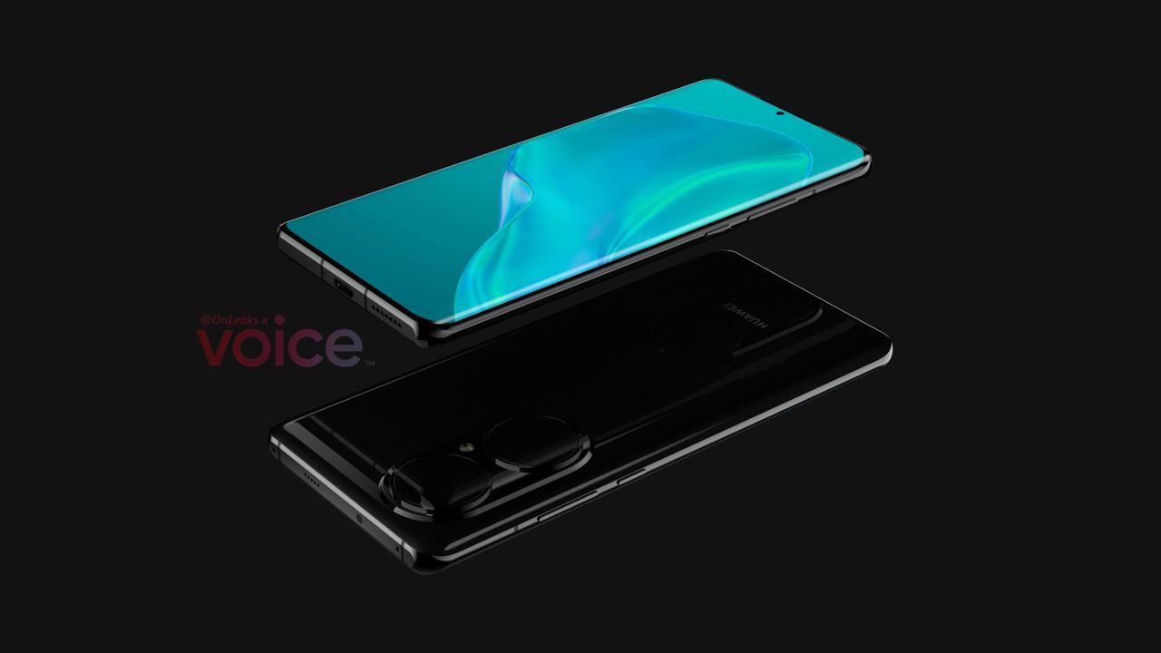 Huawei P50 Pro com Design de câmara enorme parece incrível 2